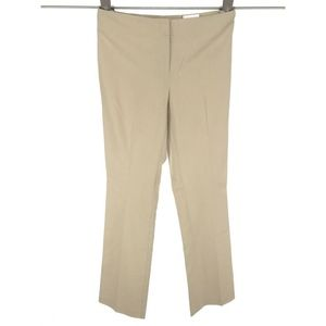Chicos Womens Ultimate Fit Pants Slacks XS Beige